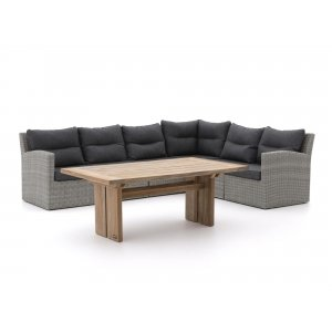 Intenso Fellini/ROUGH-L dining loungeset 7-delig rechts