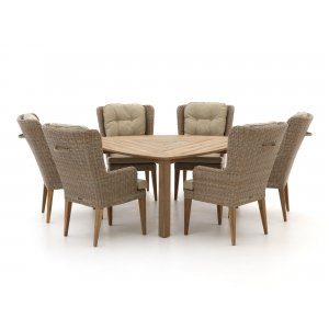 Intenso Oliveri/ROUGH-S 170cm dining tuinset 7-delig