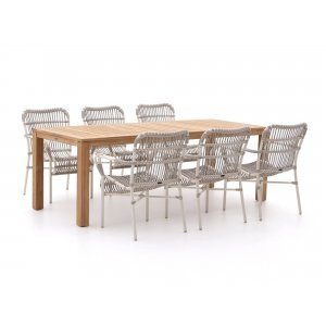 Intenso Parma/Oxford 220cm dining tuinset 7-delig