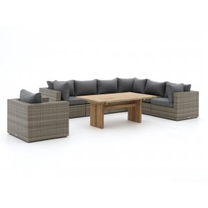 Forza Barolo/ROUGH-L dining loungeset 8-delig