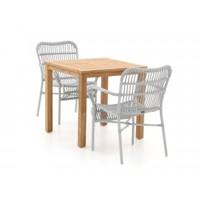 Intenso Parma/Liverpool 78cm dining tuinset 3-delig